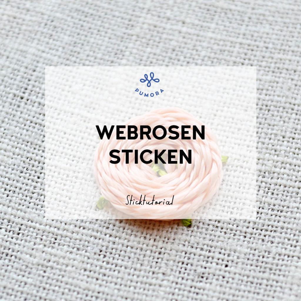 Blumen sticken Webrosen2