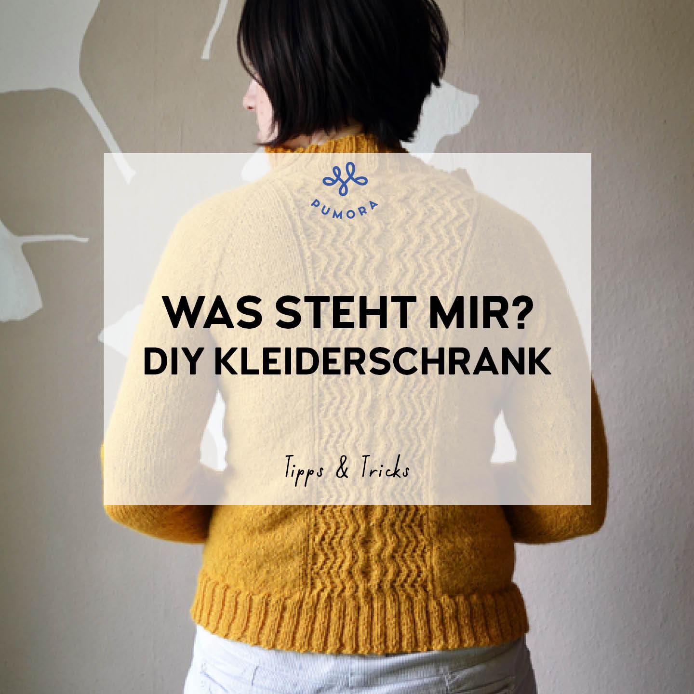 was steht mir - DIY Kleiderschrank