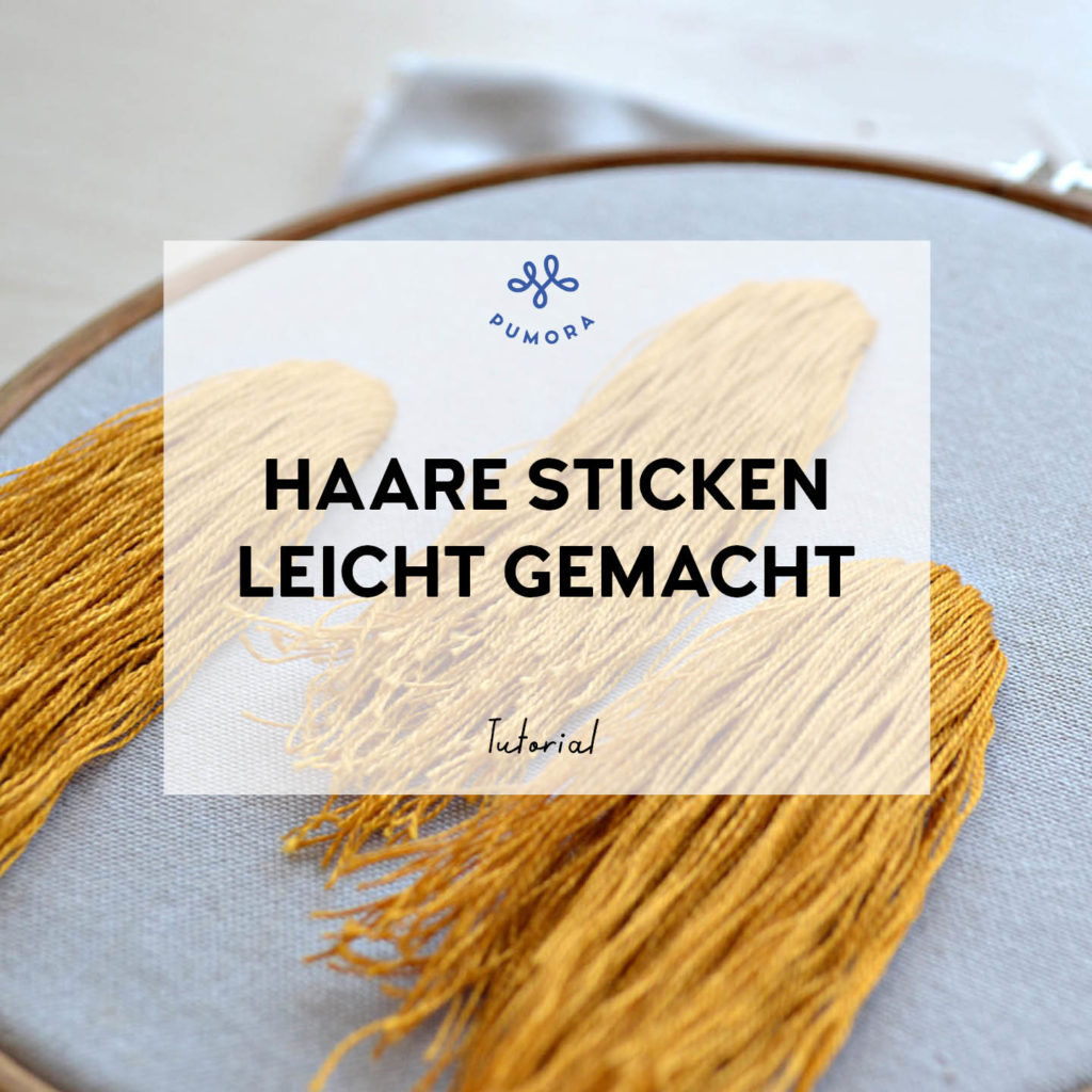 Haare Sticken leicht gemacht