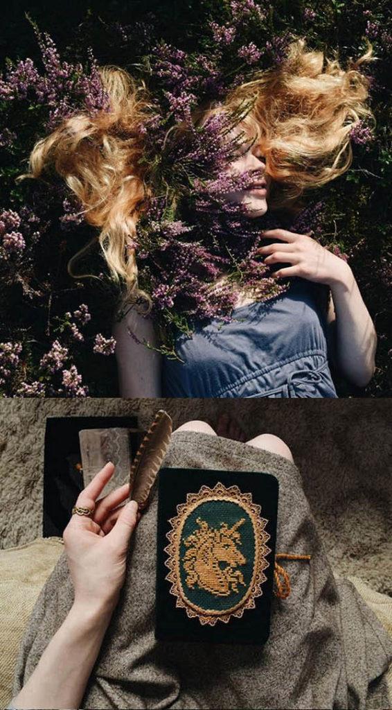 Märchenhafte Stickereiein, die zum Träumen verführen - Liskin Dol Interview