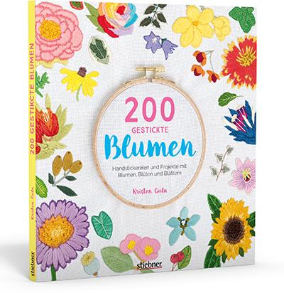 200 bestickte Blumen - Kristen Gula