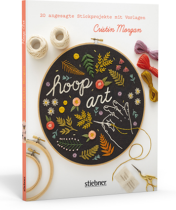 Stickbücher Hoop Art - Cristin Morgan