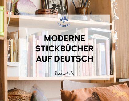 Moderne Stickbücher auf deutsch – eine Bücherliste