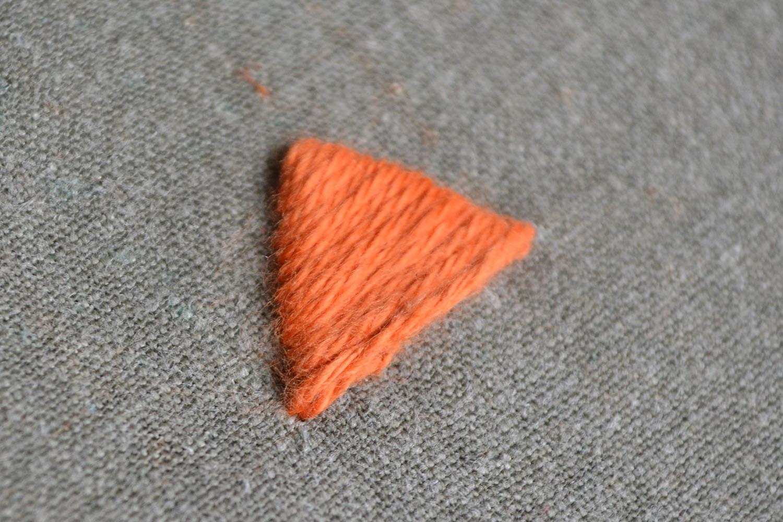 Plattstich sticken