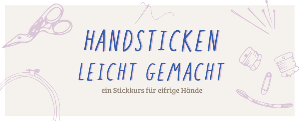 Handsticken leicht gemacht