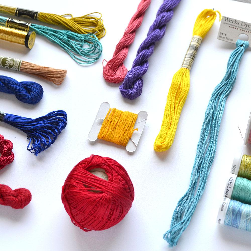 Sticken Material & Werkzeug