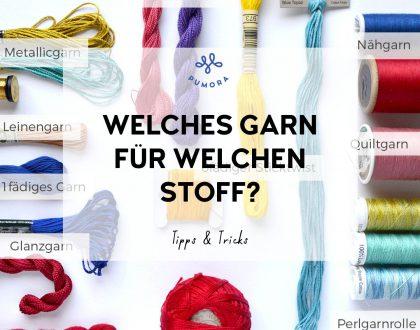 Textilien besticken – welches Stickgarn kannst du benutzen?
