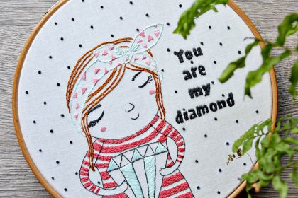 you are my diamond Stickanleitung von Pumora & Astrid Rabus