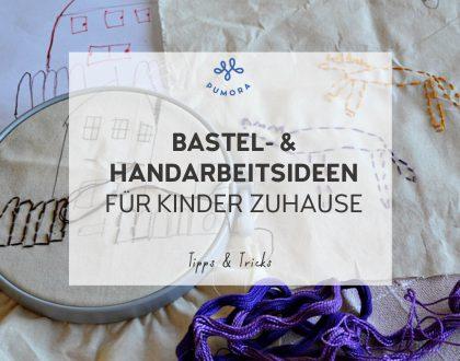 Bastelideen für Kinder zuhause – von Pappe bis Kreidemaler