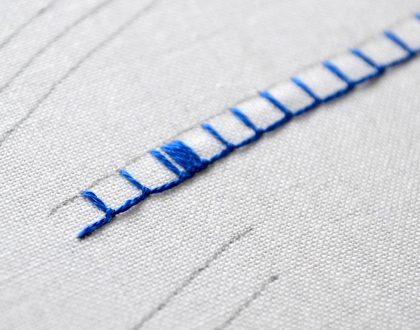 Knopflochstich Anleitung – Stickstiche sticken lernen