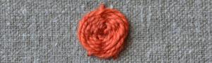 Spinnwebstich, Webrose