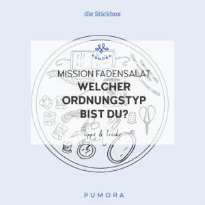 Mission Fadensalat - die 3 besten Ordnungsstrategien für dein Stickmaterial