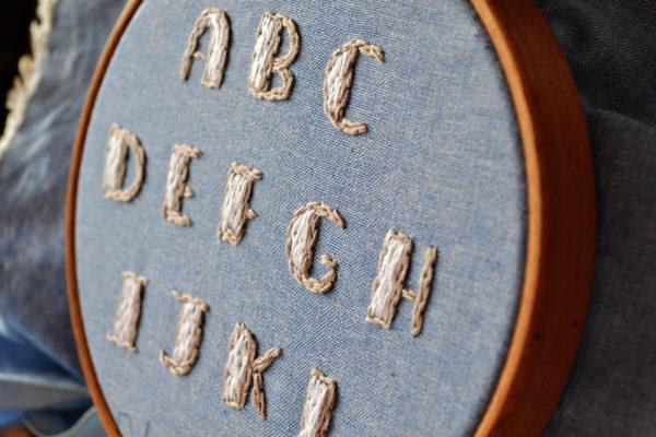 Alphabet Stickanleitung