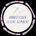 handsticken leicht gemacht logo